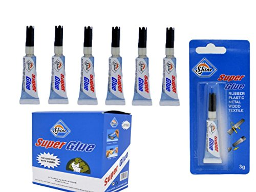 6-x-super-glue-3g-waterproof-strong-adhesive-rubber-plastic-wood-shine