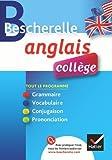 bescherelle anglais coll?ge tout en un sur la langue anglaise pour les coll?giens de rattier jeanne france 2011 broch?