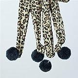 Zrong Haustier-Spielzeug-Katzen-Teaser-Kätzchen-Katze-Leopard-Handschuh Interaktive Spiel Toy 5 Fingers - 3