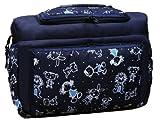 TK-07 Wickeltasche KIM von Baby-Joy XXXL Übergröße NAVY-KINDER Windeltasche Pflegetasche Babytasche Tragetasche