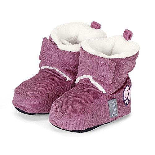 Sterntaler Baby Mädchen Schuh Krabbelschuhe, Pink (Dahlie 766), 18 EU