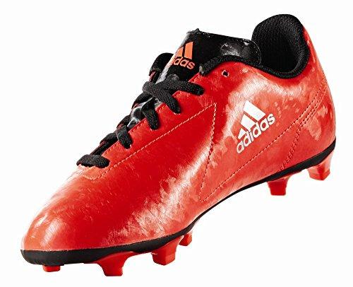 adidas Kinder Fussballschuhe Conquisto II FG Solar Red/Silver Met./Core Black 37 1/3