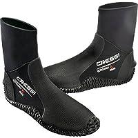 Cressi Ultraspan Dive Boots 5mm Premium Neoprene, Black - XL-9/10.5 by Cressi