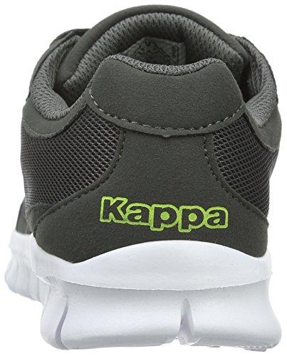 Kappa Rocket, Baskets Basses Mixte Adulte Gris - Grau (1633 grey/lime)