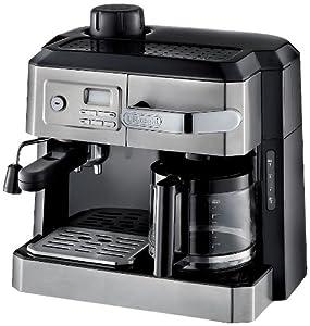 DeLonghi BC0330T Combination Drip Coffee and Espresso Machine by DeLonghi America, Inc.