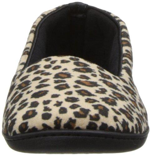 Pour One Original Size Léopard Chaussons Dearfoams Vente Femme BUqW6w