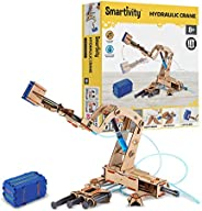 Smartivity Pump it Move it Hydraulic Crane STEM STEAM Educational DIY Building Construction Activity Toy Game