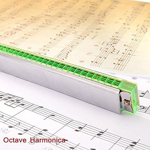 Ottava Zophor (TM)-Armonica a 24 fori di organi con Reed-Strumento con custodia, musica, strumento per la vendita al minuto - 24 Gauge Instrument Cable