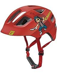Casco de ciclismo para niños Cratoni MAXSTER–En Muchos Colores, color red pirate glossy, tamaño S-M (51-56 cm)