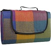 Idena manta de pícnic bunt - kariert Talla:130 x 170 cm