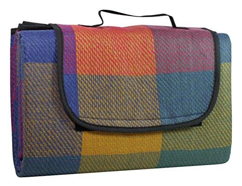 Idena 7578461 - Picknickdecke mit wasserabweisender...