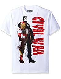 Captain America Civil War Civil Mask Mens T-Shirt