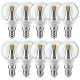 10 x Paulmann LED Tropfen Leuchtmittel 4W fast 40W E14 klar warmweiß 2700K 360° Rundumlicht