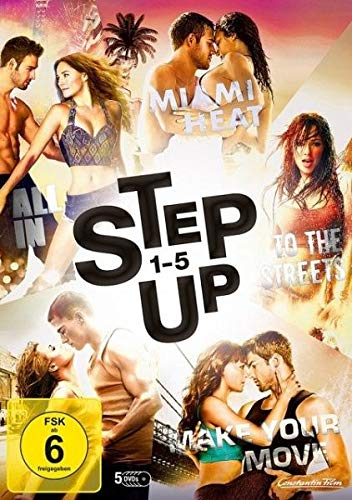 Step Up 1+2+3+4+5 Box (5 DVDs)