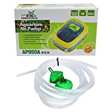 #4: Jainsons Pet Products Venus Aqua Aquarium Air Pump with Pipe and Air Stone (Double Nozzle, AP950A)