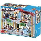 Playmobil - 5923 - Jeu De Construction - Ecole Avec 3 Salles De Classe