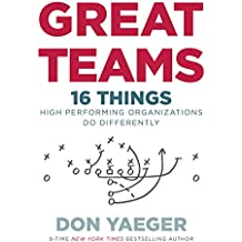 Great Teams: 16 Things High Performing Organizations Do Differently (English Edition)