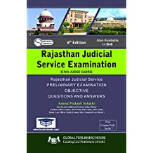 Rajasthan Judicial Services Examination Preliminary Examination Objective Questions and Answers . ed 2018-19