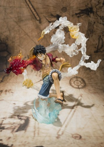 "Bandai Tamashii Nations Monkey. D. Luffy ""One-Piece"" FiguartsZERO Figure (Battle Version) (japan import) 6"