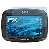 atFoliX Displayschutzfolie für Garmin Zumo 390LM Schutzfolie - 3 x FX-Clear kristallklare Folie