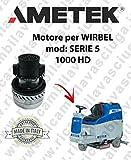 Serie 51000HD Motor Ametek Einlassventil für Bodenwischer Wirbel