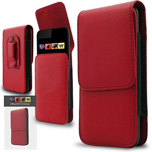 IWIO Doogee HOMTOM HT3 Handy-Schutzhülle, Doogee HOMTOM HT3, rot, Stück: 1 Soft-side Case