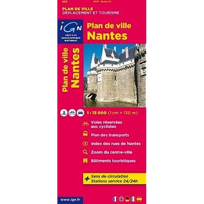 72531 PLAN DE NANTES 1/13.000