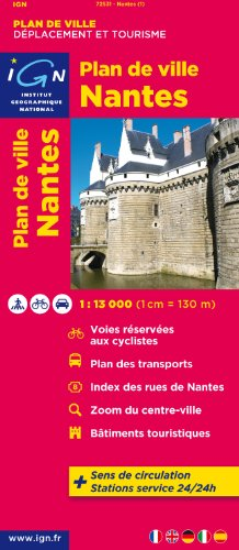 72531 PLAN DE NANTES  1/13.000 par COLLECTIF