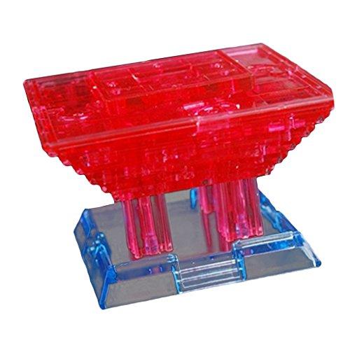 MagiDeal 3D Crystal Puzzle , 3D DIY Puzzle Pädagogisches Spielzeug für Kinder Erwachsene -...