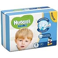 Huggies Baby, Größe 4(7–18kg), 17Windeln