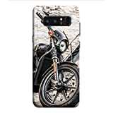 OBOkart Classic Bike 3D Hard Polycarbonate (Plastic) Designer Back Case Cover For Samsung Galaxy Note8 :: Samsung Galaxy Note8 Duos