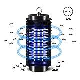 FANCYLEO EU Mückenfalle Licht Lampe gegen Mücken, elektrisch, UV, Mücken, tragbar, Zelt gegen Mücken, Fliegen, Insekten