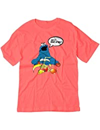 BSW Men's Cookie Monster What Is This Shirt