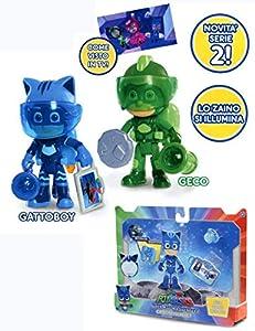 Giochi Preziosi-PJ Masks pigiamini personaggio Super Moon, pju03000