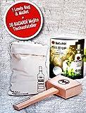 Bacardi Mojito Eiscrusher / Ice-Crusher Set inkl. 20 Tischaufsteller