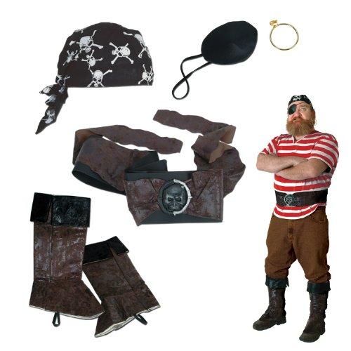 Beistle Piraten Set (Karibik-stiefel Der Fluch)