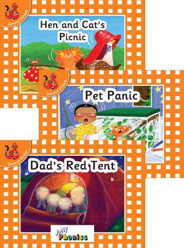 Jolly Phonics Orange Level Readers Set 2: in Precursive Letters (British English edition)