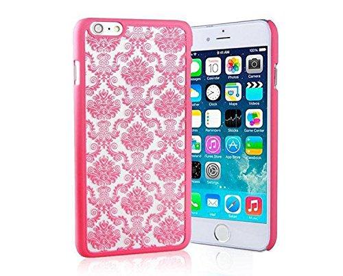 iCHOOSE Paisley Henna Coque pour Apple iPhone 6 Protective Couverture / Mandala Dream Catcher Design Rose Vif Style 1