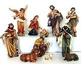Krippefiguren 11teilig aus Kunstharz, ca.20 cm groß (0940040)