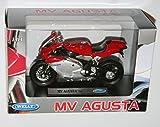 Welly - MV AGUSTA F4S Die Cast Motorbike Model Scale 1:18