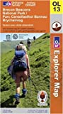 Brecon Beacons National Park: Eastern area 1 : 25 000 (OS Explorer Map)