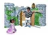 small foot 9970 Ritterburg 'Avalon' aus stabilem Karton, detailreich bedruckt, großes Spielhaus, ab 3 Jahren
