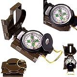 Wanderkompass Peil & Marschkompass Metall Kompass Militär BW Bundeswehr US-Army compass !
