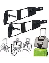 Rameng Add-a-Bag Sangle Ajustable Ceinture Réglable pour Voyage Bagages Valise Tendeur Elastique Bungee