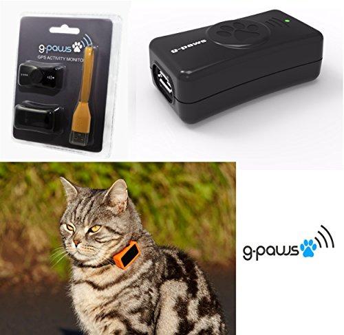 Localizador y registrador de datos por GPS G-PAWS 3 para perros y gatos