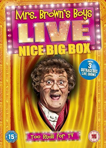 Mrs Brown's Boys Live - Nice Big Box - the live shows from the Smash Hit BBC Series Region 2 Encoding (This DVD Will Not Play on Most DVD Players Sold in the Us or Canada [Region 1]. This Item Requires a Region Specific or Multi-region DVD Player and Compatible Tv. More About DVD Formats.) [DVD] (Dvd Smash Tv-serie)