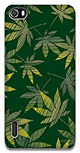 The Racoon Grip Green Grass hard plastic printed back case / cover for Huawei Honor 6