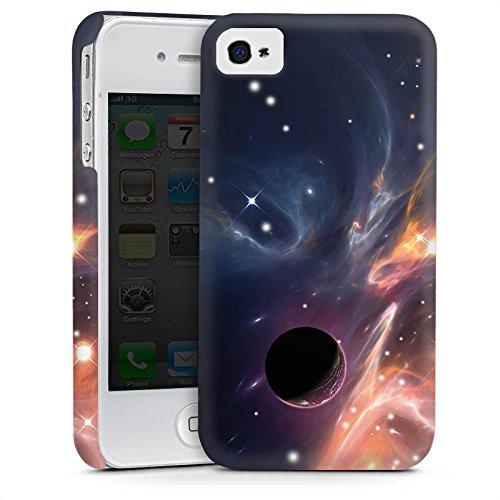 Apple iPhone 6 Housse Étui Silicone Coque Protection Espace Galaxie Motif Cas Premium mat
