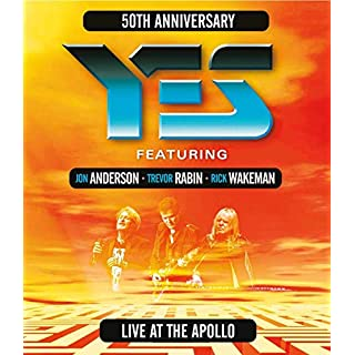 YES (ATW) Live at the Apollo [Blu-ray] [2018] [Region Free]