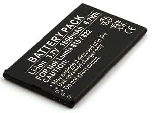 Batterie compatible pour Nokia Lumia 810, Lumia 822